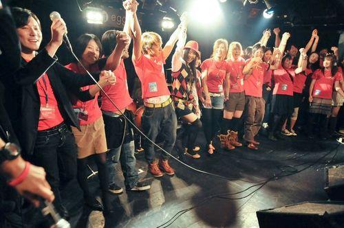 最後舞台の上で。絆!!